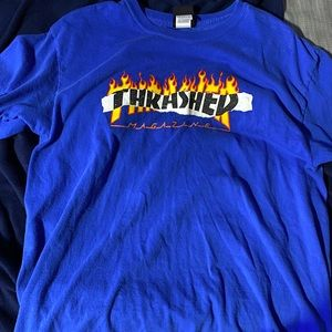Size L Mens Flame Thrasher Tee
